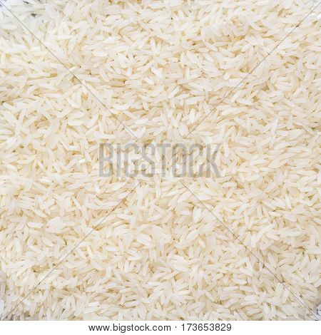 Close up of Thai jasmin rice background.