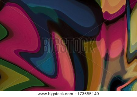 Abstract background / wallpaper of waves / veils texture
