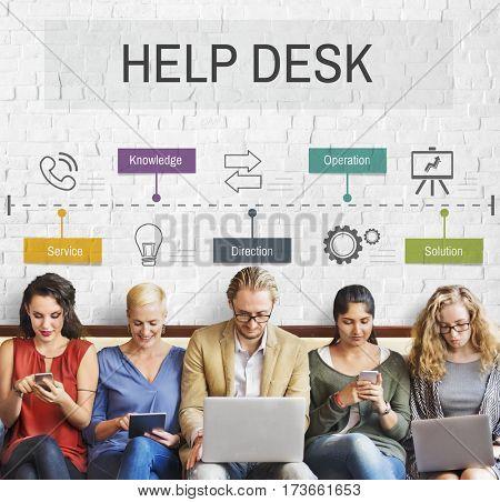 Help Desk Customer Service Word