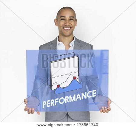 Business Performance Studio Portrait Concept
