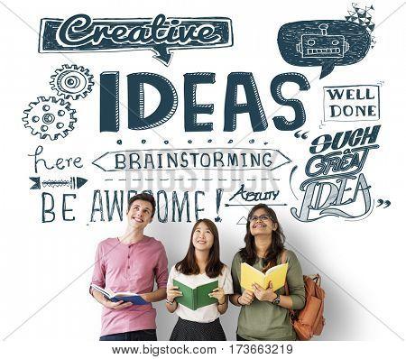 Creative Ideas Brainstorming Inspiration Concept