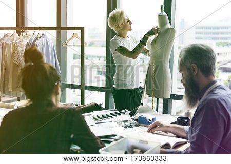 Fashion Designer Mannequin Measurement Working