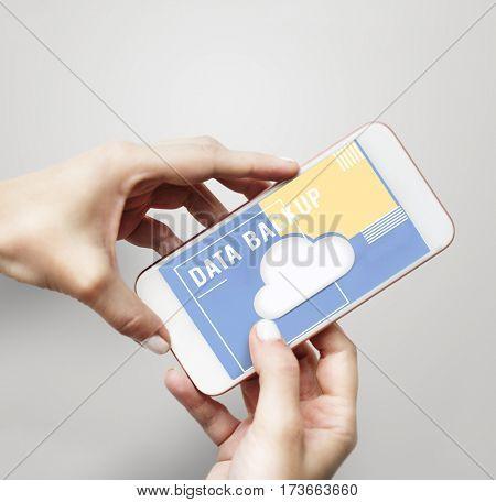 Secure Upload Connection Online Cloud Sign