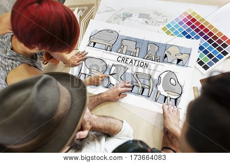 Ideas Creation Design Process Icon