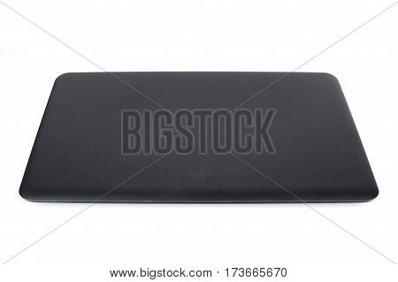 Closed Laptop Isolated On White Background