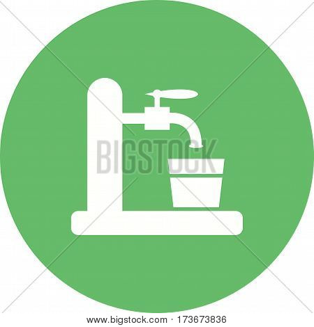 Beer, tap, barrel icon vector image. Can also be used for oktoberfest. Suitable for use on web apps, mobile apps and print media.