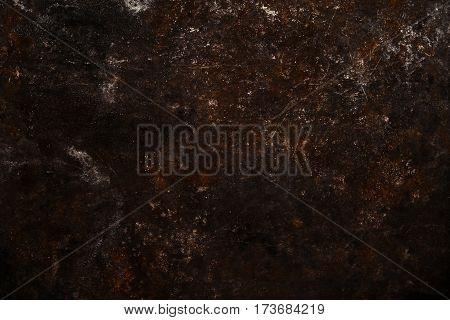 Dark Rusty Metal Background