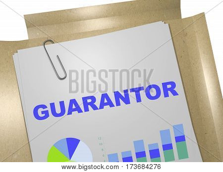 Guarantor - Banking Concept