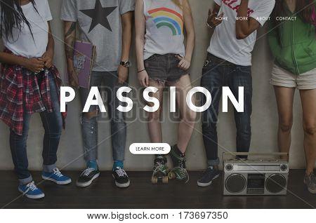 Inspiration Passion Simplify Motivation Brave