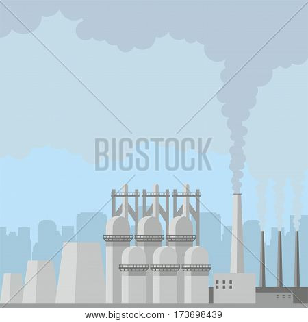 Steel Plant Background.eps