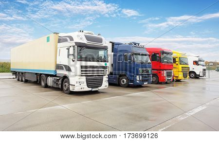 Truck transportation Freight cargo transport  and Shipping