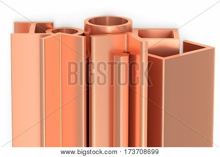 Shiny Rolled Copper Metal Products