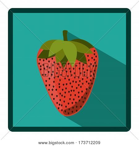 symbol strawberry icon image, vecctor illustration design stock