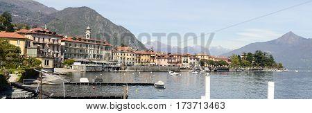 Menaggio Town At Famous Italian Lake Of Como