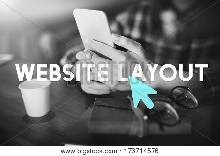 Website Social Network Cursor Icon