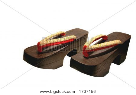 Wooden Shoes From Japan