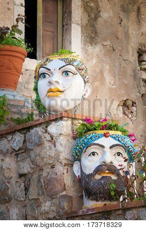 Ornamental Pottery Planters