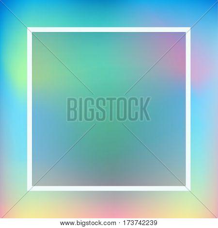 Blurred background for Spring Hliday, Greeting card background. Vector Illustration, modern style. For Art Print Fashion, Web design Decoration, placard, Web banner, flyer, advertising, marketing