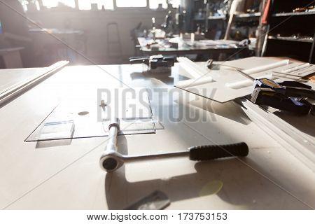Workroom Rusty Tools