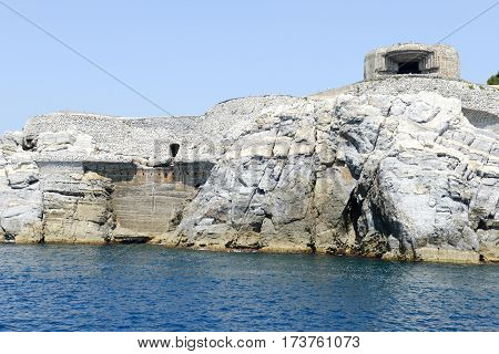 Island Of Tino Near Portovenere