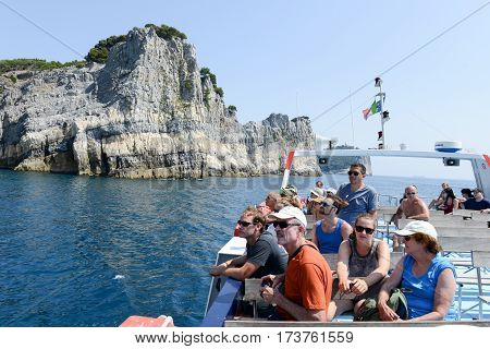Island Of Tino Near Portovenere, Italy