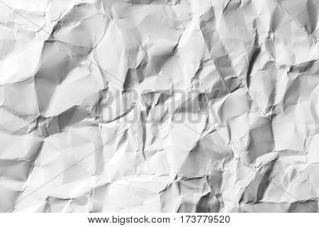 White creased paper background texture background abstract