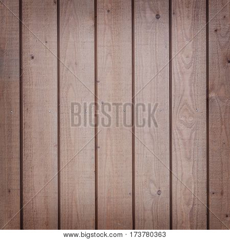 square part of vertical planks with light brown varnish
