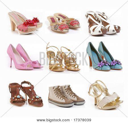 color shoes collection