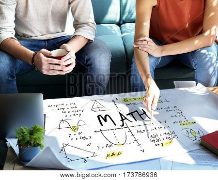 Methematics Math Algebra Calculus Numbers Concept