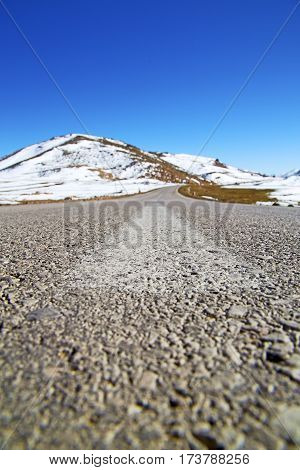 Hill In   Africa Morocco The Wild Angle Asphalt Street