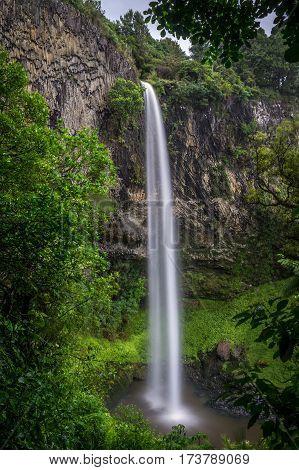 Bridal Veil Falls, North Island, New Zealand
