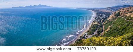 Paekakariki Hill Road Lookout, North Island, New Zealand