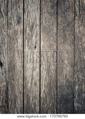 Vertically tile old wood plank for  background