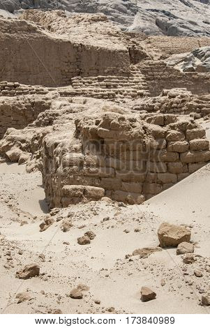 Chan Chan Archeological Site In Trujillo - Salaverry Peru