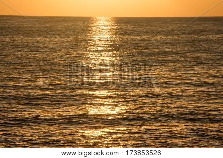 Sunset At