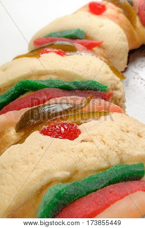 Epiphany Cake, Kings Cake, Roscon De Reyes Or Rosca De Reyes