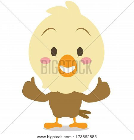 Cute eagle cartoon collection stock vector art