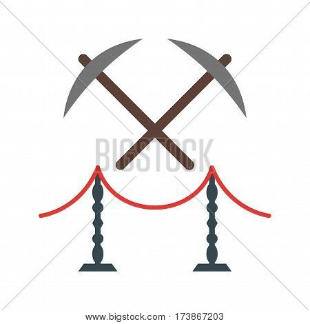 Old, museum, tools icon vector image. Can also be used for museum. Suitable for mobile apps, web apps and print media.