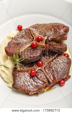 Wild Boar Steaks
