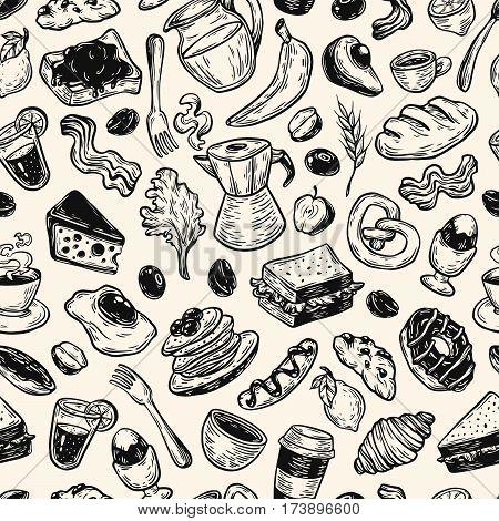 Breakfast Time, Pattern.