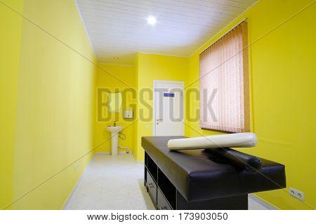 Interior of a massage office