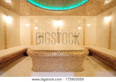 Interior of a hamam