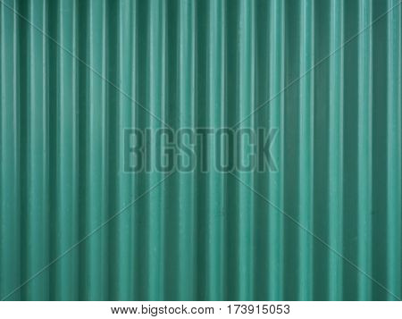 Green Galvanized Steel Roof Plate texture background