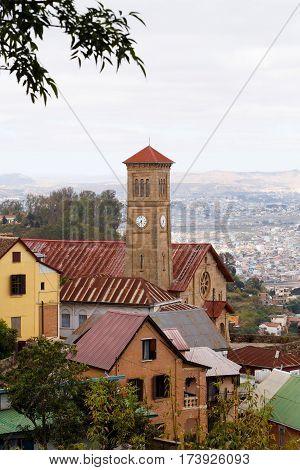 Central Antananarivo, Tana, Capital Of Madagascar