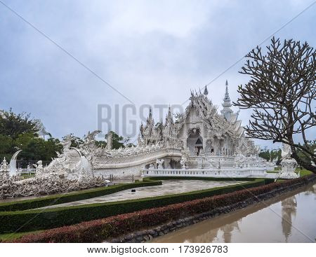 The Beautiful White Temple Wat Rong Khun