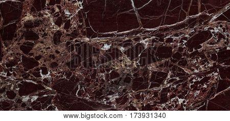 Natural Italian Rosso Levanto Marble Texture