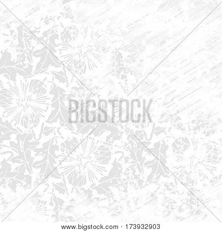 White grunge abstract background.  gray worn texture