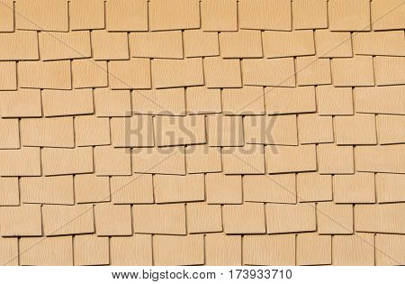 background pattern of roof tile, texture material