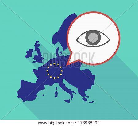 Eu Map With An Eye