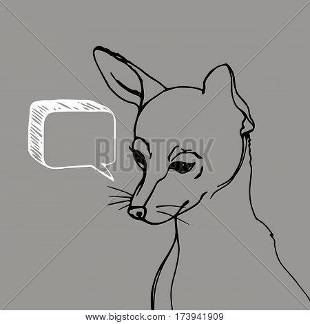 dog vector small drawing illustration animal cute